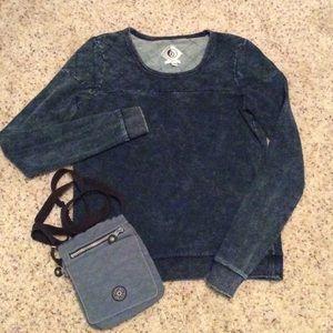 Geniune Volcom Women's Crew Sweatshirt Size S/P/10